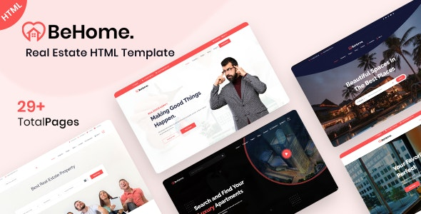 BeHome - Real Estate HTML Template - Business Corporate