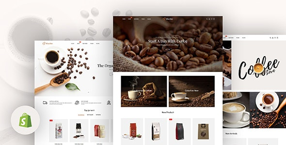Monfee - Coffee Shops & Cafés Responsive Shopify Theme - Shopify eCommerce