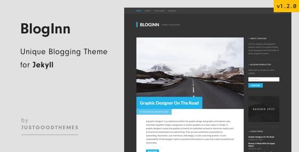 BlogInn - Bold Theme for Jekyll