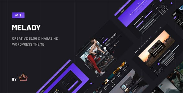 Download Melady – Creative Blog & Magazine WordPress Theme