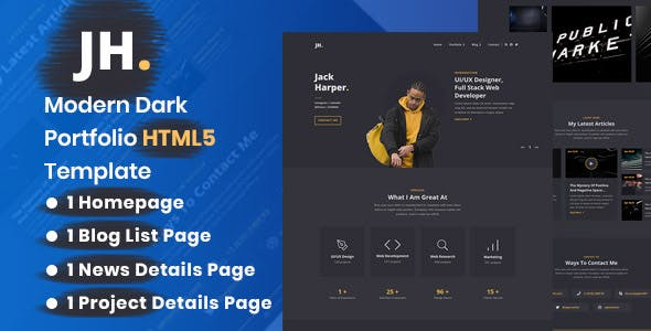 Download Palun - Personal Portfolio HTML Template