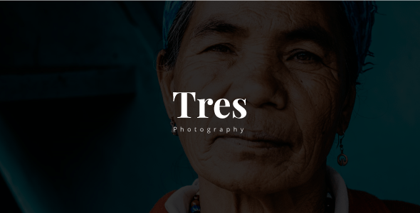 Download Tres - Creative Photography Template