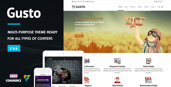 Gusto - Vanguard WordPress Theme - Business Corporate