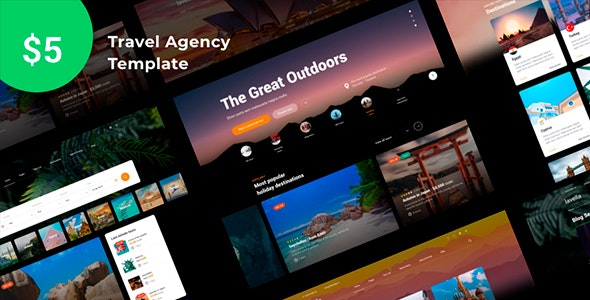 Lavella – Tour & Travel Agency Template - Travel Retail