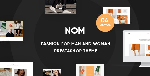 Leo Nom - Prestashop Clothing Theme for Fashion Store - Fashion PrestaShop