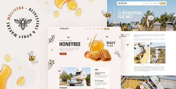 Download Mellifera - Beekeeping and Honey Shop Theme