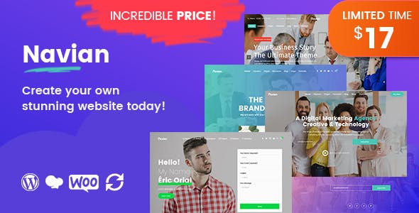 Navian - Multi-Purpose Responsive WordPress Theme