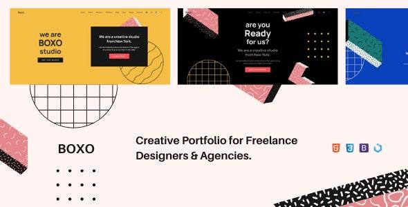 Boxo — Creative Multi-Purpose Portfolio - Creative Site Templates