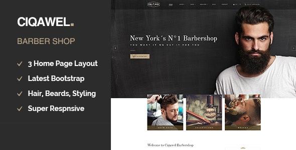 Cigawel - Barbershop WordPress Theme - Health & Beauty Retail