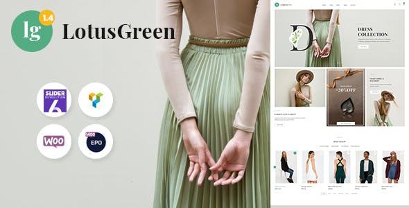 Download LotusGreen Fashion WooCommerce Theme