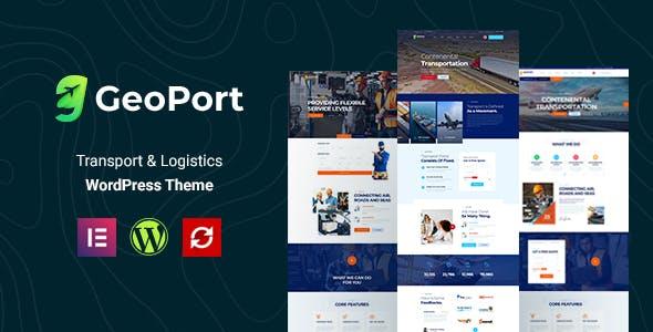 Geoport - Transport & Logistics WordPress Theme