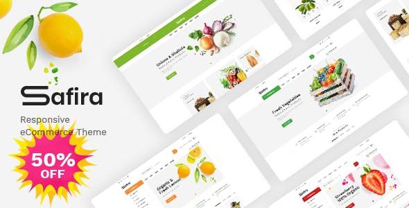 Download Safira - Food & Organic WooCommerce WordPress Theme