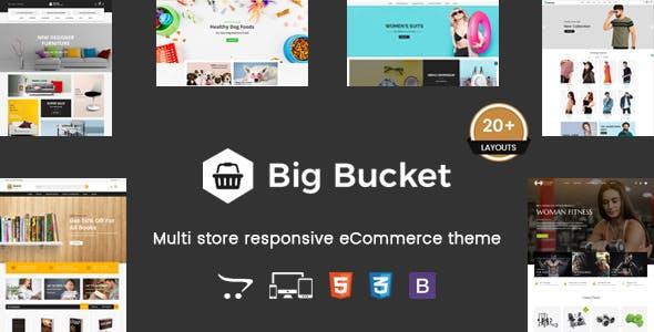 Big Bucket - Multipurpose Responsive OpenCart Theme