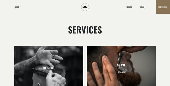 Chop - Barber Shop Sketch Template