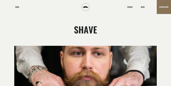 Chop - Barber Shop Figma Template