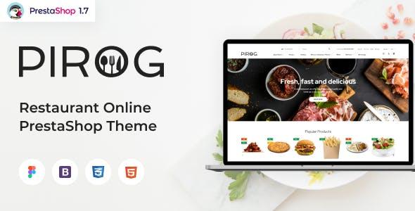 Pirog - Restaurant Online Ordering PrestaShop Theme