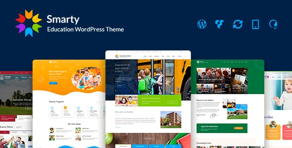 Smarty - School Kindergarten WordPress theme - Education WordPress