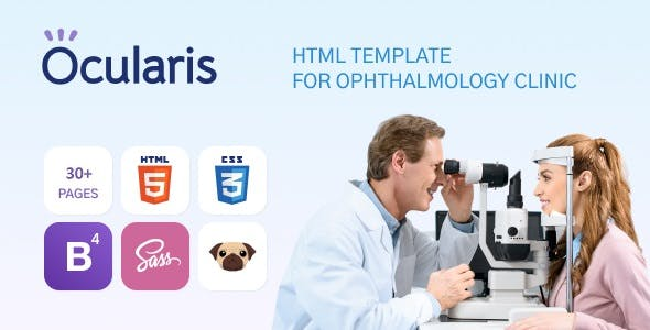 Download Ocularis - Doctor Clinic Template
