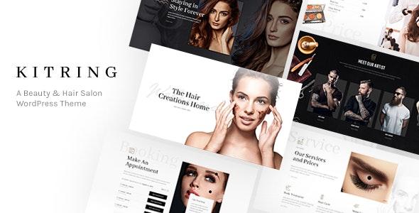Kitring - A Beauty & Hair Salon WordPress Theme - Health & Beauty Retail