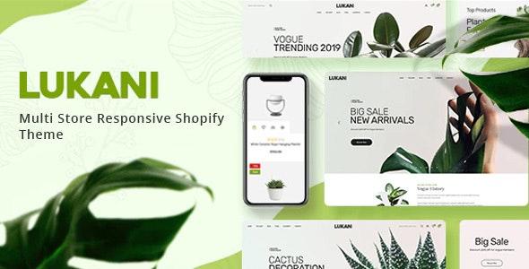 Lukani Plant and Flower Shop Shopify Theme
