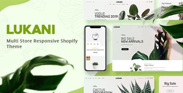 Lukani - Plant And Flower Shop Shopify Theme