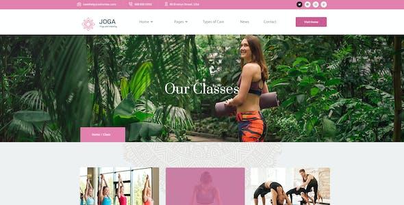 Joga - Yoga Center PSD Template