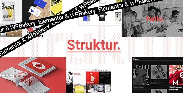Struktur - Creative Agency Theme - Creative WordPress
