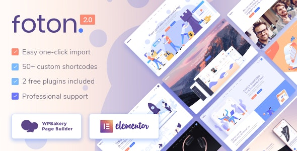 Foton - Software and App Landing Page Theme - Software Technology
