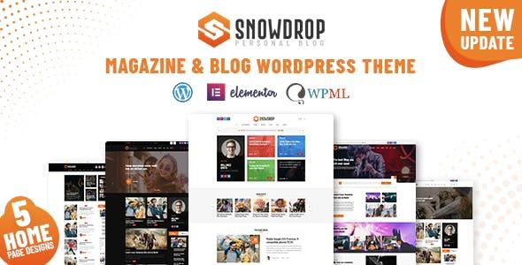 Download Snowdrop - Viral News & Magazine WordPress Theme