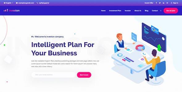 Investon - Multipurpose Business React Template