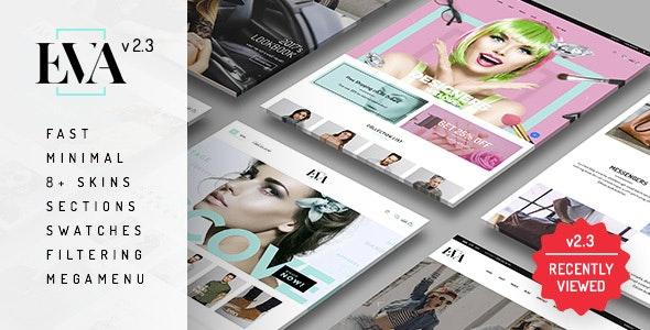 Eva - Responsive eCommerce Shopify Sections Theme - Fashion Shopify
