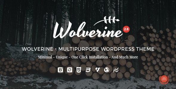 Wolverine - Responsive Multi-Purpose Theme - Business Corporate