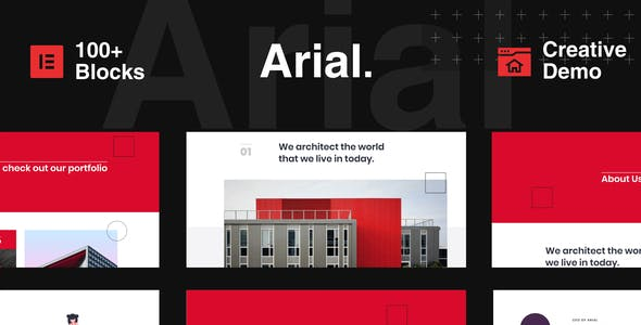 Arial - Architecture, Construction & Real Estate Elementor Template Kit