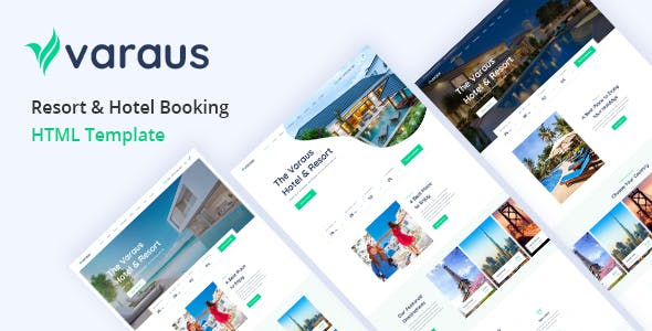 Varaus - Hotel Booking HTML5 Template
