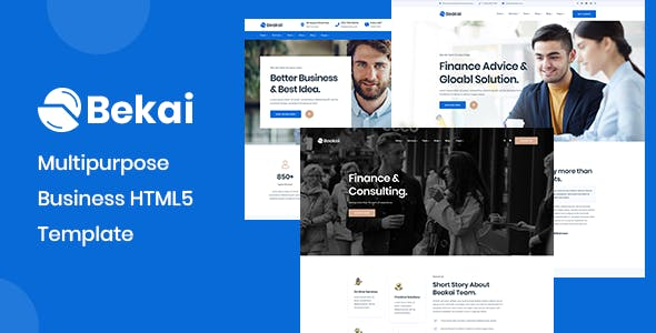 Download Beakai - Business and Financial Institution HTML5 Template