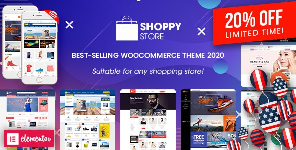 ShoppyStore - Multipurpose Elementor WooCommerce WordPress Theme (15+ Homepages & 3 Mobile Layouts) - WooCommerce eCommerce