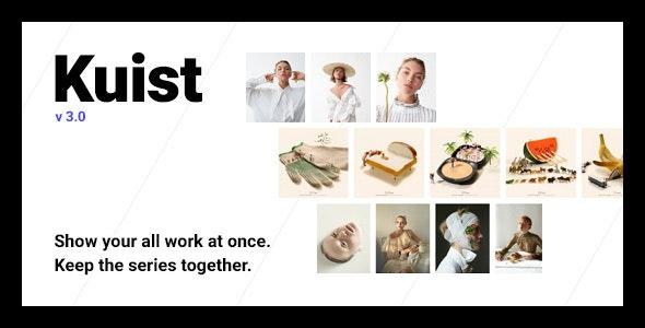 Kuist - Photography Series Portfolio WordPress Theme - Portfolio Creative