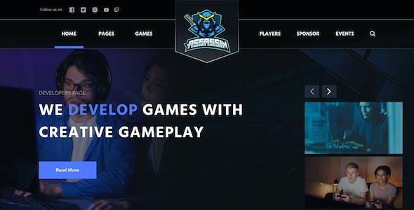 Assasin - eSport Website Template