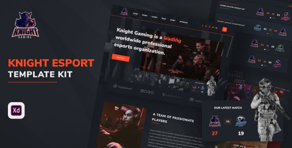 Knight - eSport Website Template