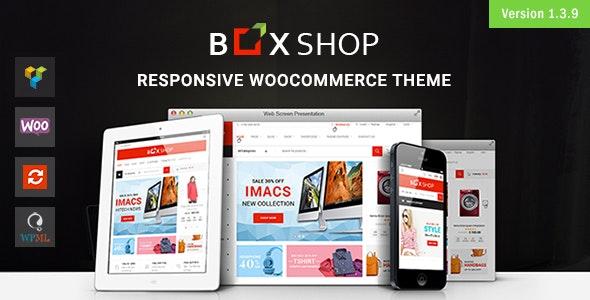 BoxShop - Responsive WooCommerce WordPress Theme - WooCommerce eCommerce
