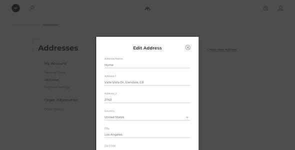 Kontur – eCommerce Sketch Template