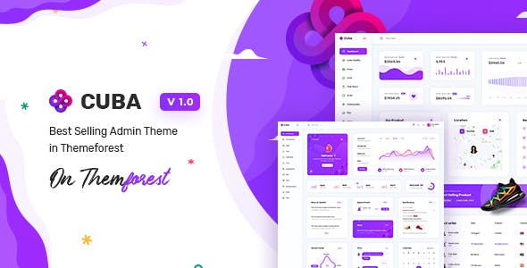 Download Cuba - Bootstrap Responsive Admin Dashboard Template