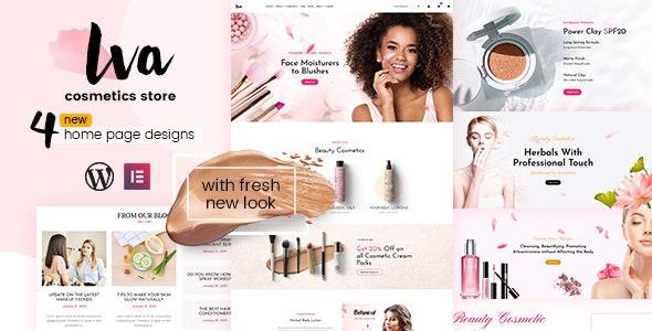 Iva - Beauty Store, Cosmetics Shop - WooCommerce eCommerce
