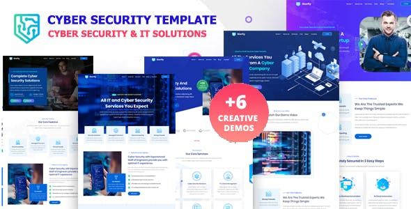 Skerlty - Cyber Security Company HTML Template