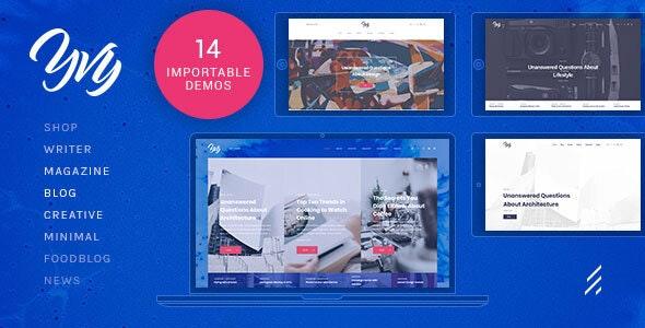 Yvy — Blog/Magazine WordPress Theme - Personal Blog / Magazine