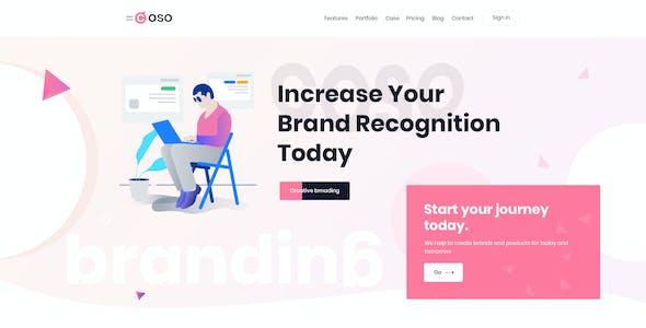 Coso – Creative Agency PSD Template