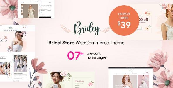 Download Bridey - Bridal Store WooCommerce WordPress Theme