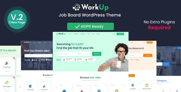Workup – Job Board WordPress Theme - Directory & Listings Corporate