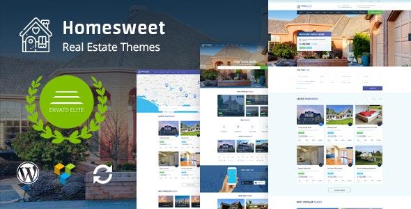 HomeSweet - Real Estate WordPress Theme - Real Estate WordPress