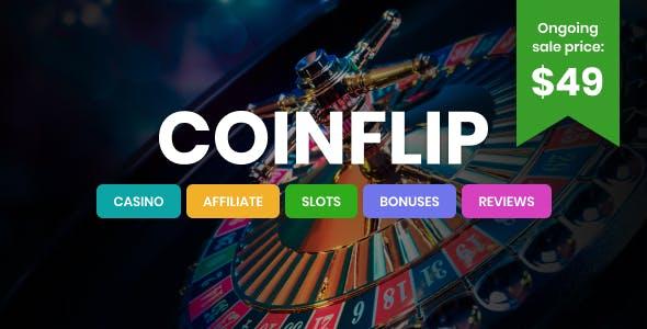 Download Coinflip - Casino Affiliate WordPress Theme